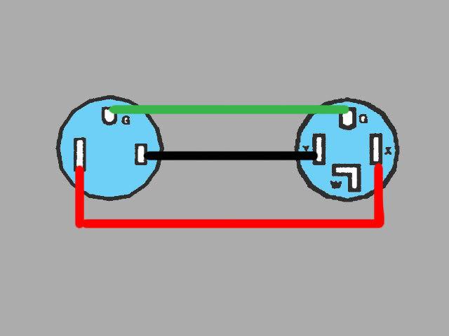 Mig Welder Extension  Power Cord